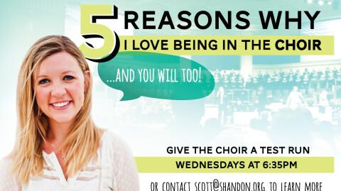 5 Reasons I Love the Choir - Erin