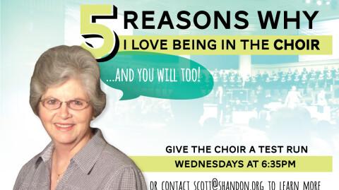 5 Reasons I Love the Choir - Judy