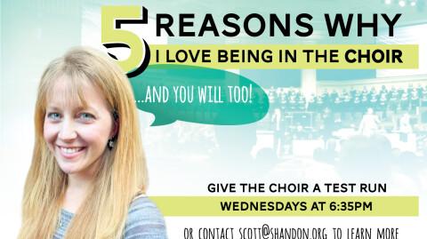 5 Reasons I Love the Choir - Amber
